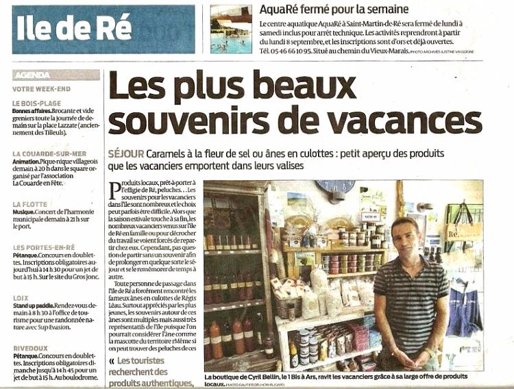 Article-sud-ouest-ete-2014-la-boutioque-ile-de-re