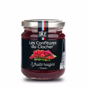 Confiture aux 3 Fruits Rouges - Ile de Ré
